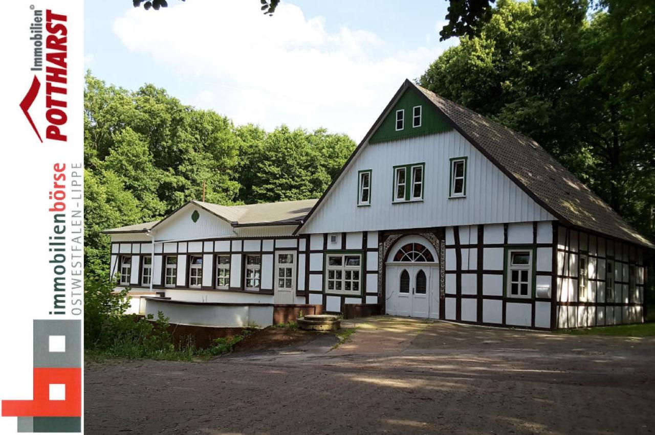 gastronomie beherbergung zur miete in bad oeynhausen denkmalgesch tztes geb ude mit. Black Bedroom Furniture Sets. Home Design Ideas